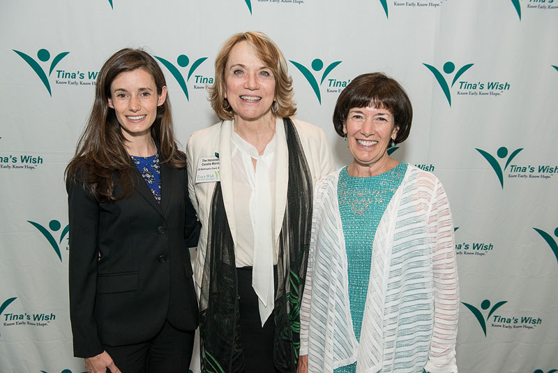 Program Speakers (left to right): Dr. Kara Long Roche, The Honorable Cecelia Morris, Nancy Long