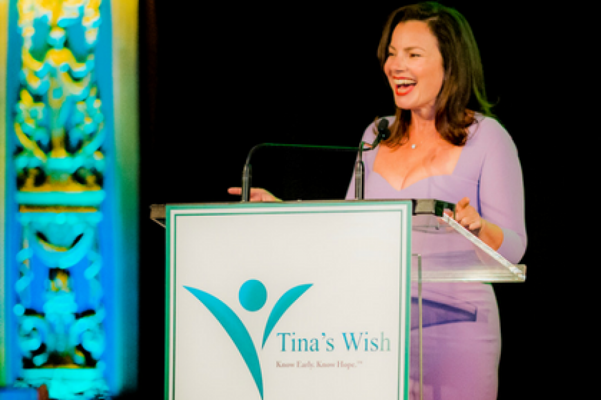 TINA'S WISH AND ACTRESS FRAN DRESCHER JOIN FORCES TO RAISE MORE THAN $125,000 FOR OVARIAN CANCER RESEARCH