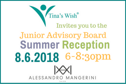 JUNIOR ADVISORY BOARD SUMMER RECEPTION: MONDAY, AUGUST 6, 2018