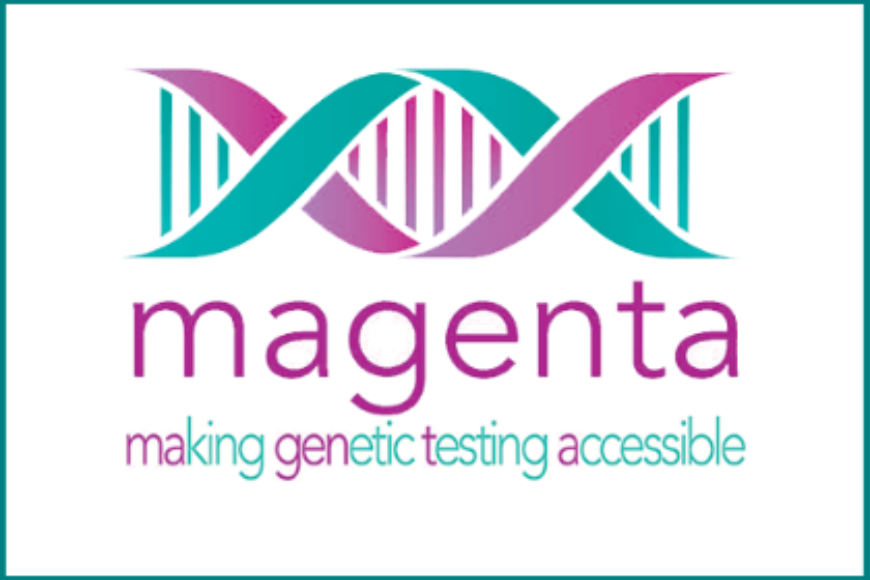 MAGENTA genetic test alerts woman of her increased risk of developing ovarian cancer