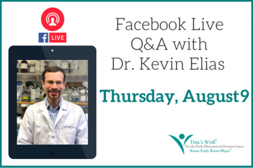 Facebook Live Q&A with Kevin Elias, MD