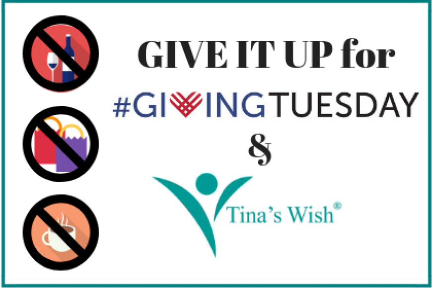 GIVE IT UP FOR GIVING TUESDAY