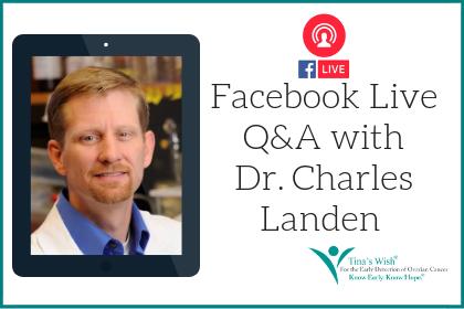 Facebook Live Q&A with Charles Landen, MD