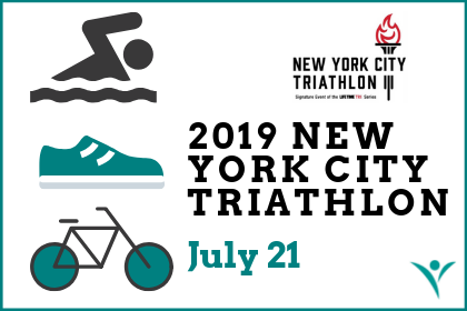 NEW YORK CITY TRIATHLON – SUNDAY, July 21, 2019