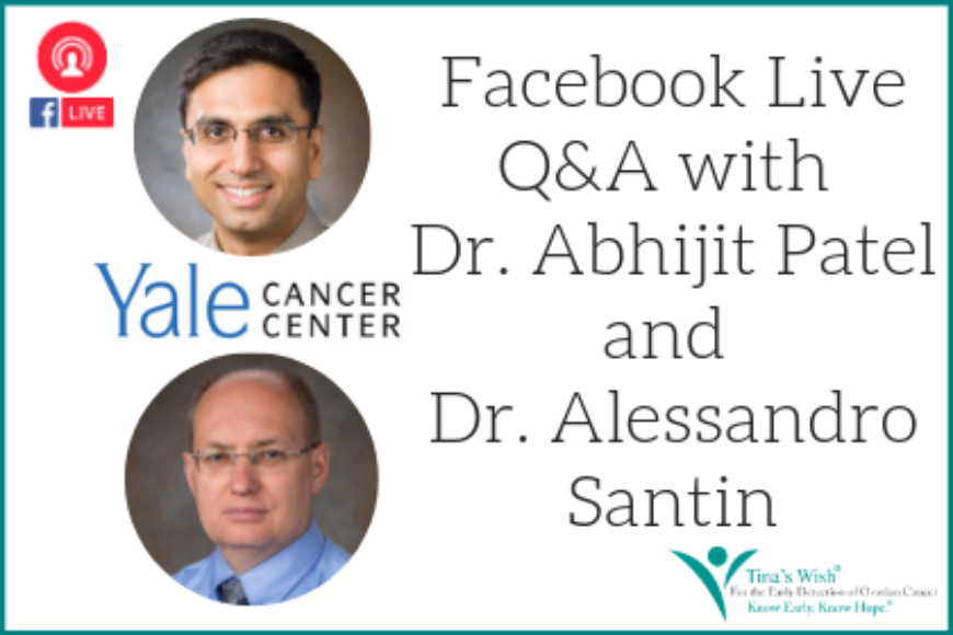 Facebook Live Q&A with Abhijit Patel, MD, PhD and Alessandro Santin, MD