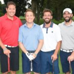 Jonathan Fladell's foursome - Tina's Wish Golf Outing