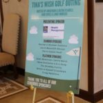 Sponsor Poster - Tina's Wish Golf Outing