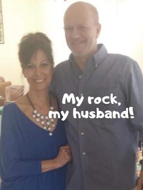 Dysgerminoma Ovarian Cancer Survivor Brenda Conni and Husband