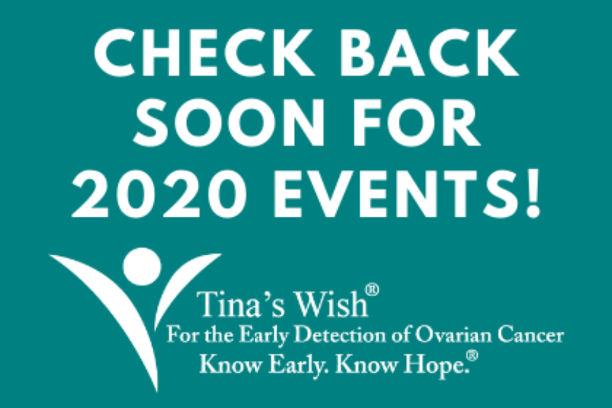 CHECK BACK SOON FOR 2020 EVENTS!