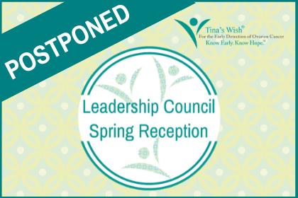 POSTPONED: LEADERSHIP COUNCIL SPRING RECEPTION