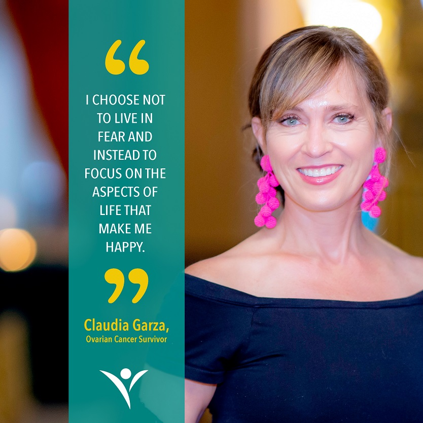 Stage 3c Ovarian Cancer Survivor Claudia Garza shares the lessons she's learned and her new inspirational outlook on life after her journey.