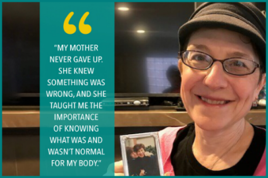My Mom Was a Warrior But Her Ovarian Cancer Was Found Too Late