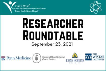 Researcher Roundtable: Thursday, September 23